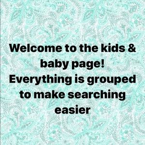 Kids and baby items